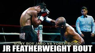 SONNY BOY JARO VS YOSEP BOIDO | LOCAL BOXING SCENE