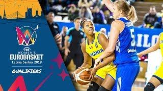LIVE 🔴 - Romania v Finland - FIBA Women's EuroBasket 2019 - Qualifiers 2019