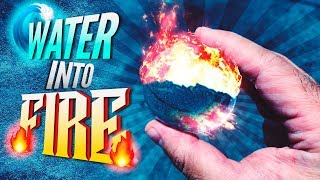 How To Make Fire From Water DIY ~ Incredible Science Experiment
