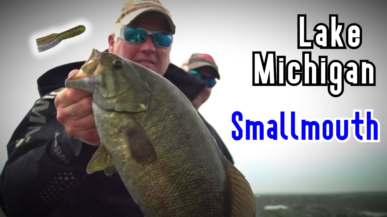 Tube Fishing For Lake Michigan Smallmouth Youtube