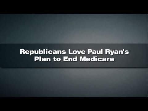 Republicans Love Paul Ryan's Plan to End Medicare