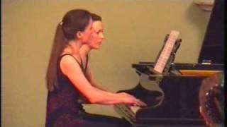 Debussy Little Suite (3/4): Menuet - Anastasia & Liubov Gromoglasova