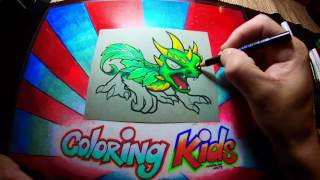 Camo Skylanders Coloring Pages for Kids Learn How to Color
