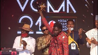Watch The Moment Kuami Eugene Was Crowned Artist Of The Year VGMA