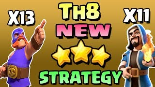 New Troop El Primo Attack Strategies For Town Hall 8 (TH8) Clash of Clans - COC