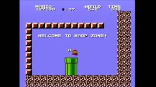 (8:03.033) Super Mario Bros.: The Lost Levels any% 8-4 speedrun *Former World Record*
