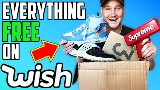 Unboxing Every FREE Hypebest Sneaker & Item On WISH!! IS IT WORTH IT? YEEZYS, SUPREME, OFF WHITE