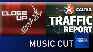 TVNZ ONE News - Breakfast Caltex Traffic Report /CLOSE UP Theme