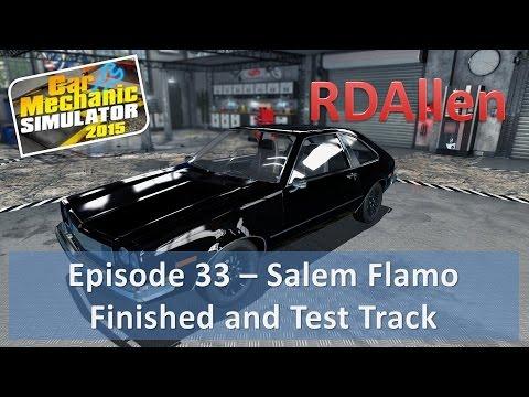 Car Mechanic Simulator 2015 E33 - Salem Flamo Finished and Taking for a Test Drive  
