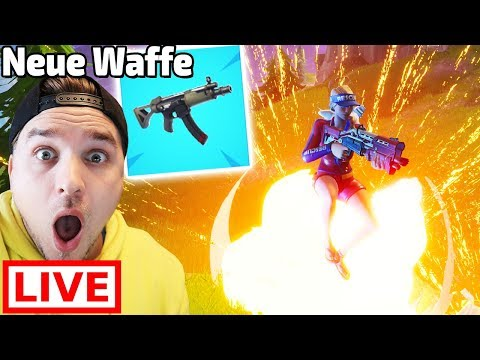 🔴 NEUE WAFFE in Fortnite Battle Royale LIVE