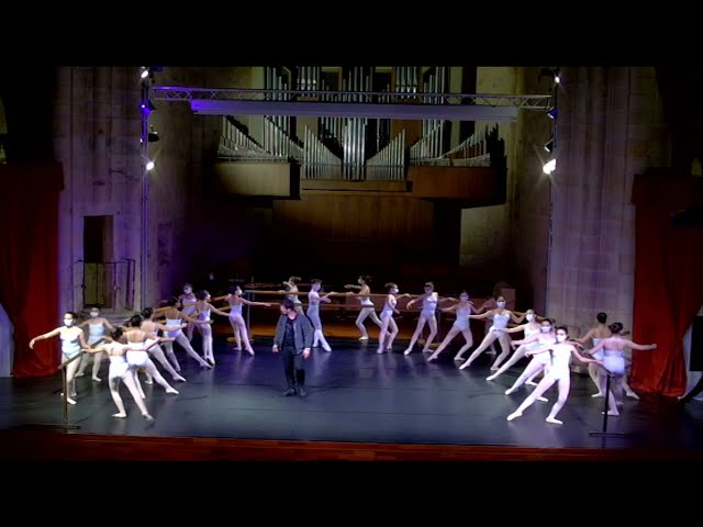 Clase emitida en streaming. 4º curso Conservatorio Elemental de Danza