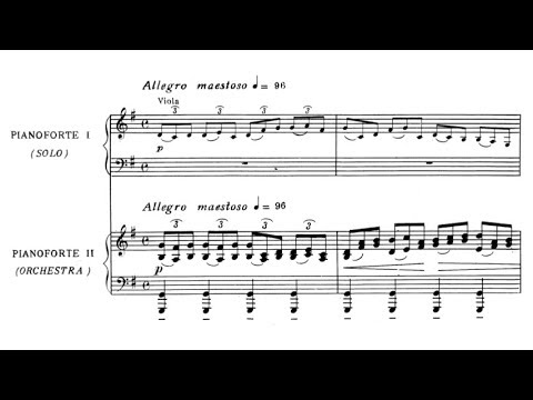 Dinu Lipatti - Concertino for piano and orchestra Op. 3 (audio + sheet music)