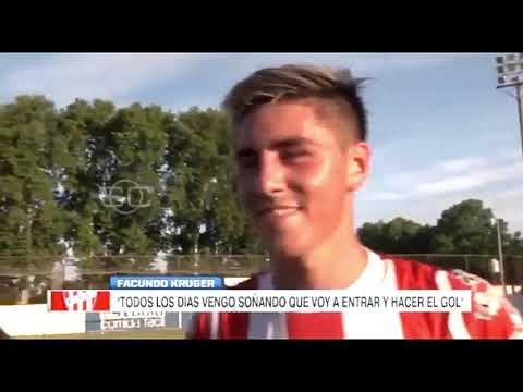 Gol de Facundo Krüger: Cañuelas campeón del Apertura 2019