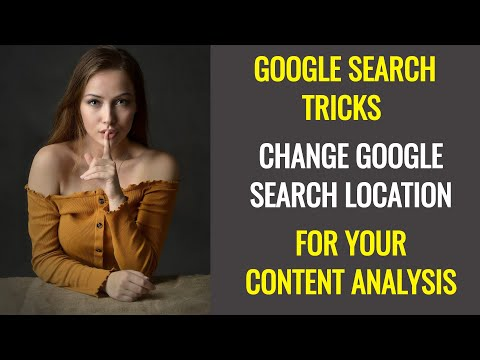 How to See Google Search Results for Other Locations? Change Google Search Country | Search Tricks