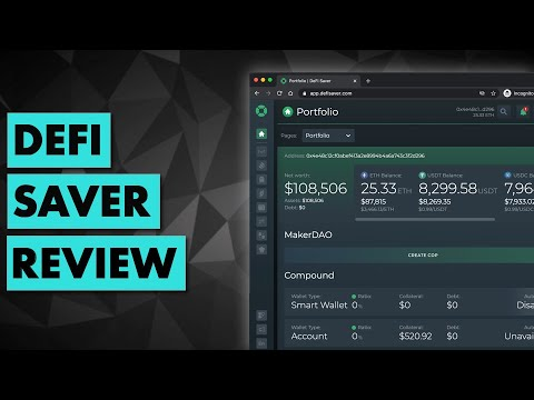 The Most Advanced DeFi Dashboard | Review of DeFi Saver