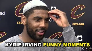 NEW Kyrie Irving FUNNY MOMENTS 2017 Part 4