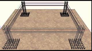 Reinforced Concrete Building Design - Sketch Up Animation