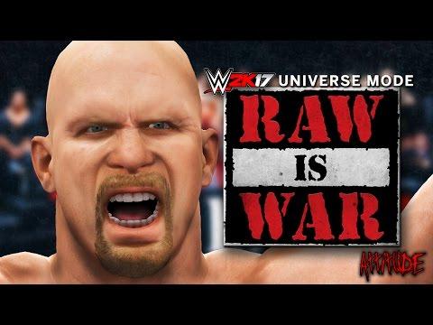 WWE 2K17 Universe Mode - Ep 3 - THE AUSTIN ERA!