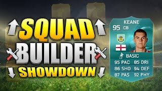 FIFA 15 SQUAD BUILDER SHOWDOWN!!! 95 RATED PRO PLAYER!!! 95 Rated Keane Fifa 15 Squad Builder Due