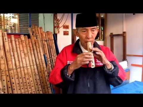 Bansi Suling Khas Sumatera Barat