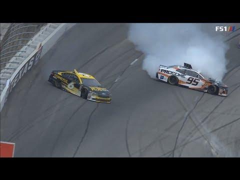 Monster Energy NASCAR Cup Series 2018. Texas Motor Speedway. Kasey Kahne & Trevor Bayne Spins