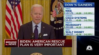 President Biden's full remarks on U.S. economic recovery and April jobs report