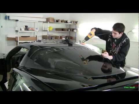 Tinting a Corvette
