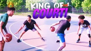 KING OF THE COURT🏀👑 FT CEYNOLIMIT & LIL BOY