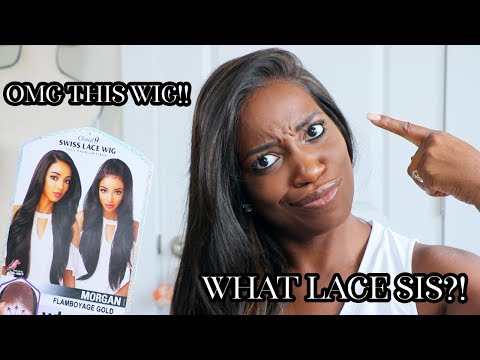 WHAT LACE SIS?! SENSATIONNEL WHAT LACE MORGAN WIG REVIEW!! | Synthetic Wigs