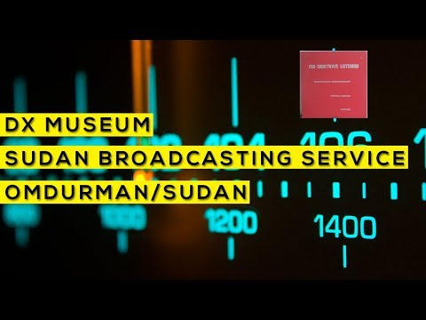 Para ouvintes de ondas curtas - Sudan Broadcasting Service