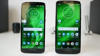 Motorola Moto G6 and Motorola Moto G6 Plus unboxing