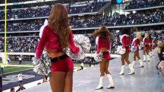 Video Dallas Cowboys Cheerleaders America's Sweethearts Dance in Front of Fans download MP3, 3GP, MP4, WEBM, AVI, FLV Januari 2018