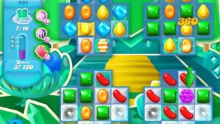 Candy Crush Soda Saga Level 991 (buffed)