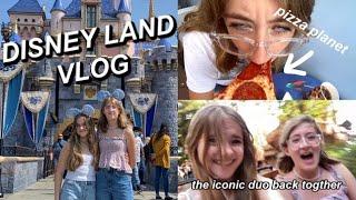 GOING TO DISNEY LAND WITH MY BEST FRIEND!! (vlog) | Ella Katherine