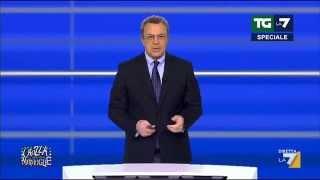 Crozza-Mentana chiede la linea,  cosa sarà successo?