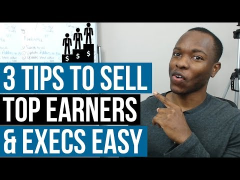 Why Top Executives & Earners Are EASIEST To RECRUIT & SELL - 3 Online Business Ideas