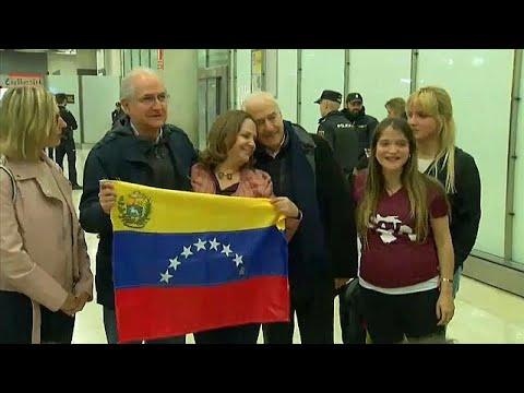 euronews (in Italiano): Antonio Ledezma è arrivato a Madrid