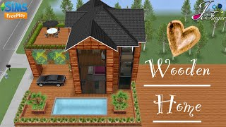Sims FreePlay 🚪  WOODEN HOME  🚪By Joy