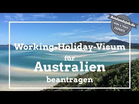 Working Holiday Visum für Australien beantragen