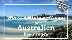 Working Holiday Visum für Australien beantragen