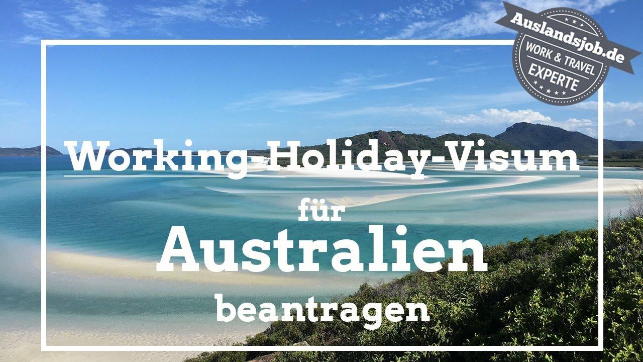 Working Holiday Visum für Australien beantragen - YouTube