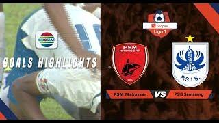 PSM Makasar (0) vs PSIS Semarang (1) - Goal Highlights | Shopee Liga 1