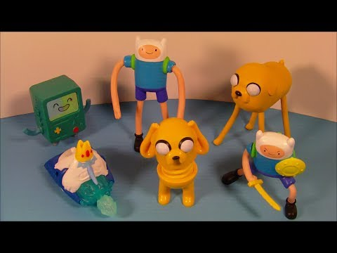 2014 Adventure Time Set Of 6 Mcdonald S Happy Meal Toy S