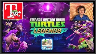 Teenage Mutant Ninja Turtles Legends Greek Gameplay Παιχνίδια στο Famous Game ελληνικά/Famous Toli