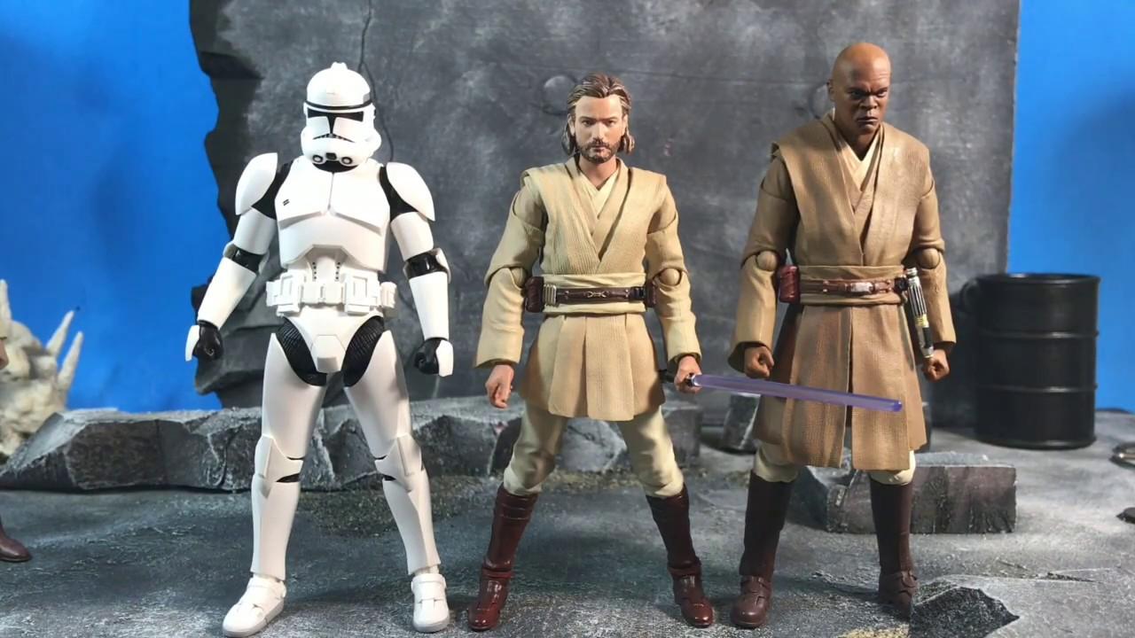 Star Wars Obi-Wan Kenobi Revenge Of The Sith S.H.Figuarts Figurine Bandai