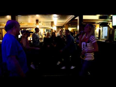 Laura & Tim...Baby, When You're Gone! Karaoke @ The Royal Oak