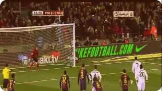 full snapshot cristiano ronaldo penalty goal barcelona vs real madrid 1 3