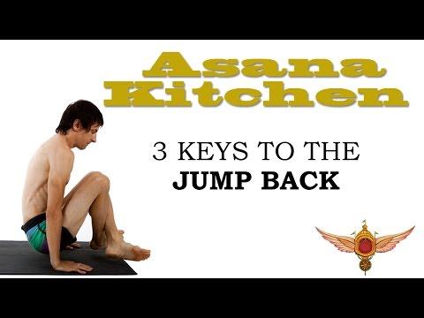 Asana Kitchen: 3 Keys to Yoga Jump Back with David Garrigues