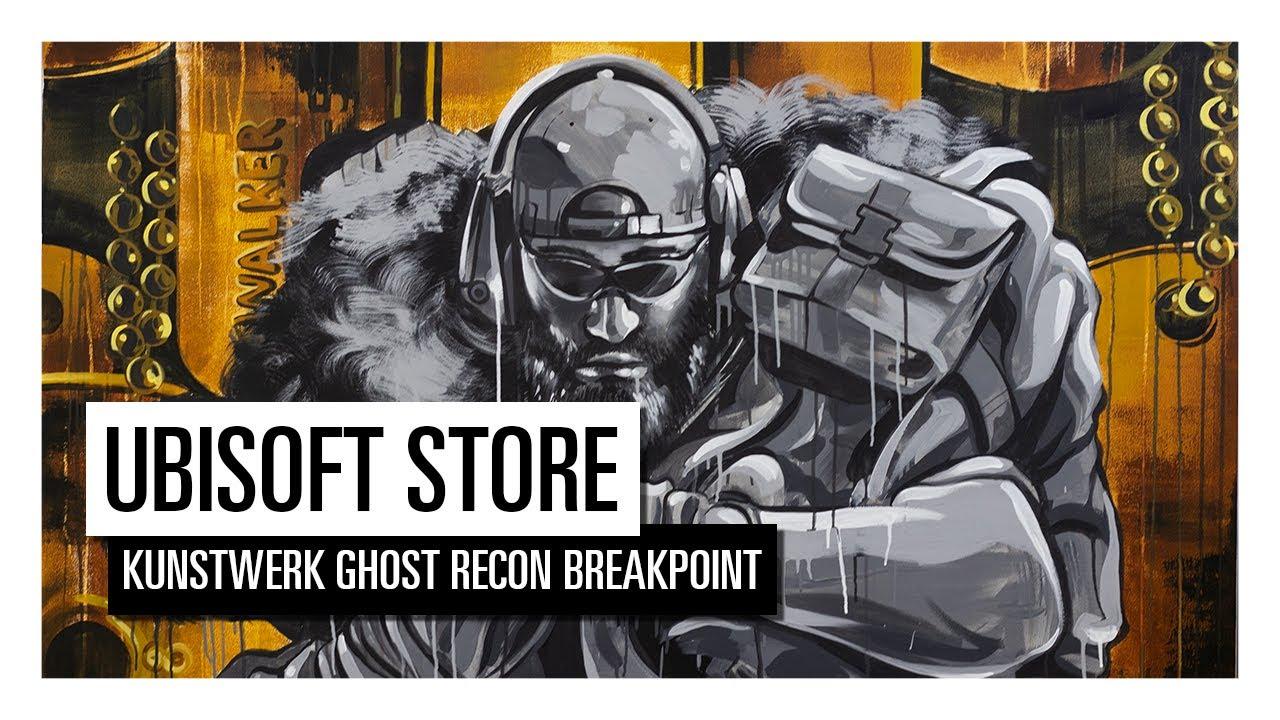Win een uniek kunstwerk van Ghost Recon Breakpoint!