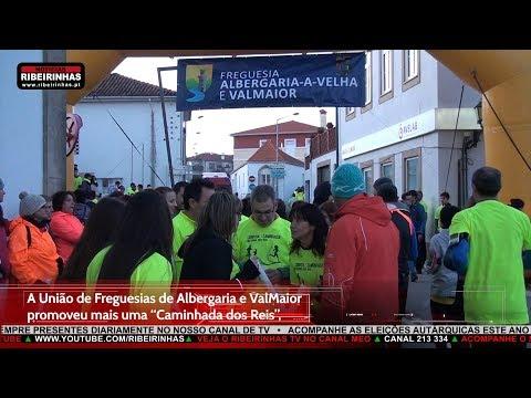 """A União de Freguesias de Albergaria e ValMaior promoveu no dia 6 de janeiro a """"Caminhada dos Reis"""""""